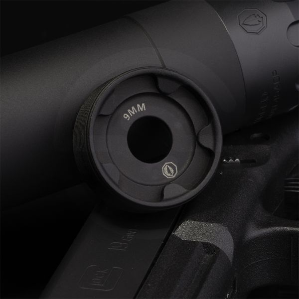 Rugged Obsidian 9mm End Cap