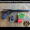 Tactical Solutions Ascent 22 Suppressor