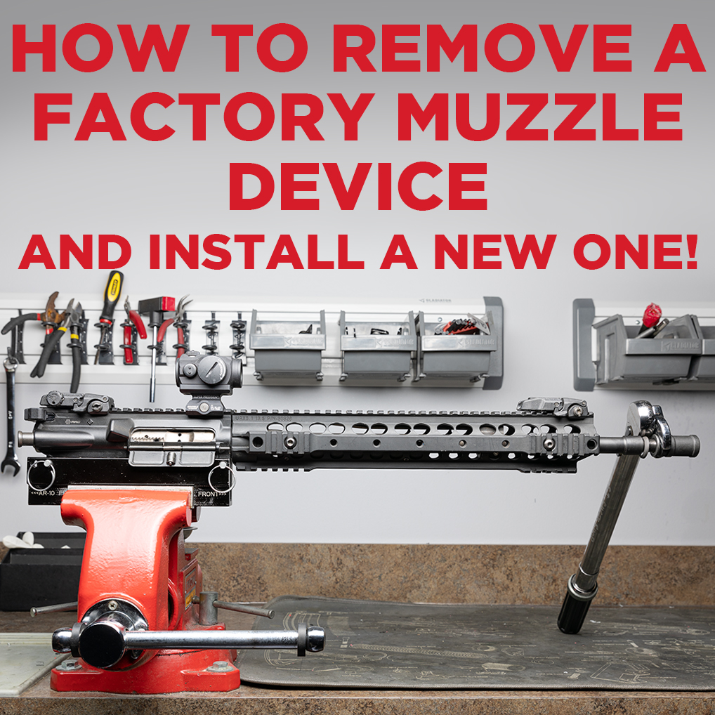 How to Remove an A2 Muzzle Device