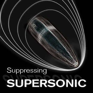 Suppressing Supersonic Ammo